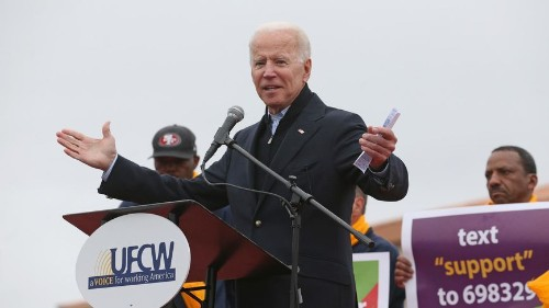 Joe Biden anuncia su candidatura a la presidencia –en inglés y español