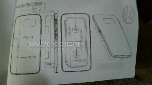 Así es el Samsung Galaxy S6, según fabricantes de cubiertas