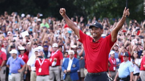 How the world reacted to Tiger Woods' historic victory