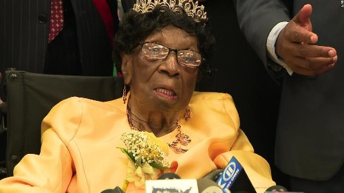 Happy birthday, Alelia Murphy! The oldest woman in the United States turns 114