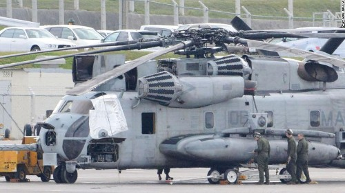 20-pound US helicopter window falls off mid-flight, injuring child in Okinawa