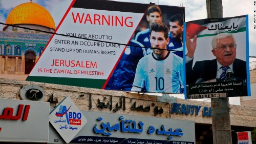 Anger in Israel after Argentina cancels soccer match