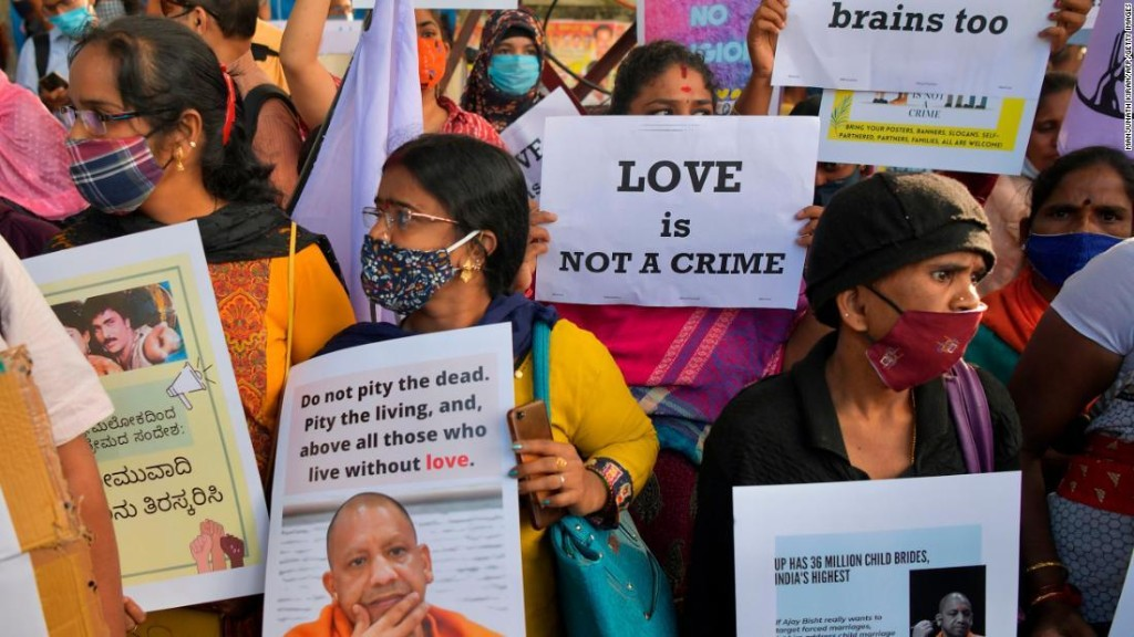 Opinion: 'Love jihad': Indian states want to pass laws to prevent interfaith marriages. The move is unconstitutional and misogynistic
