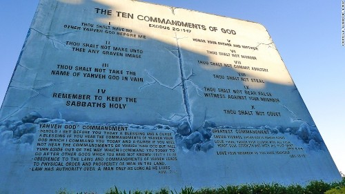 Behold, atheists' new Ten Commandments