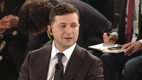 Zelensky rejects Trump's claim that Ukraine is corrupt in interview with CNN's Christiane Amanpour