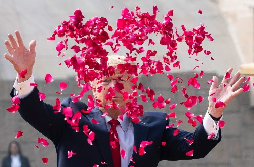 In pictures: Trump visits India