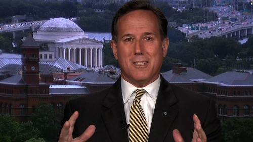 Santorum warns Trump on impeachment: This can't continue