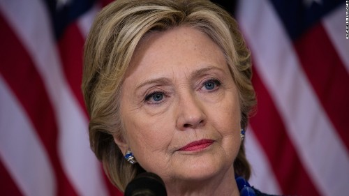 The bizarre day that blunted Clinton's good mood