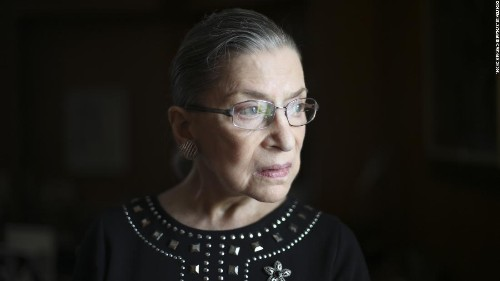 RBG's message one month after fall: I'm still here