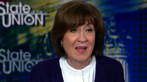 Emotional Collins defends support for women