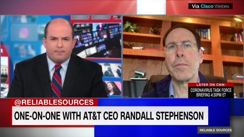AT&T CEO Randall Stephenson is retiring. COO John Stankey will succeed him