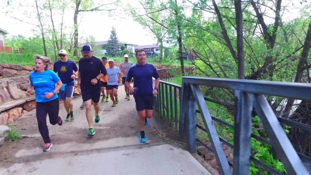 Finding peace through mindful running