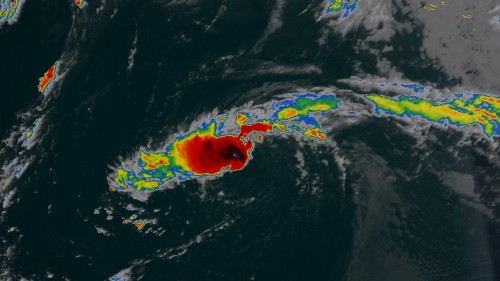 More tropical storms are brewing on both sides of the US as Dorian makes its way out
