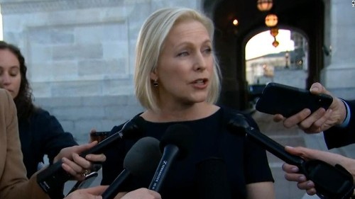 Gillibrand defends handling of sexual harassment allegations in Senate office