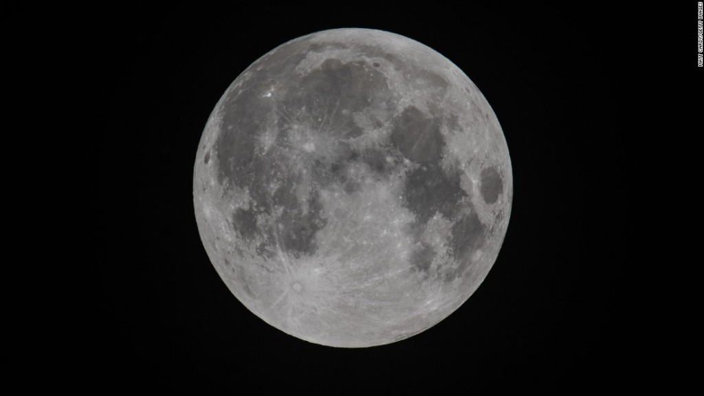 NASA mission finds water on the sunlit surface of the moon