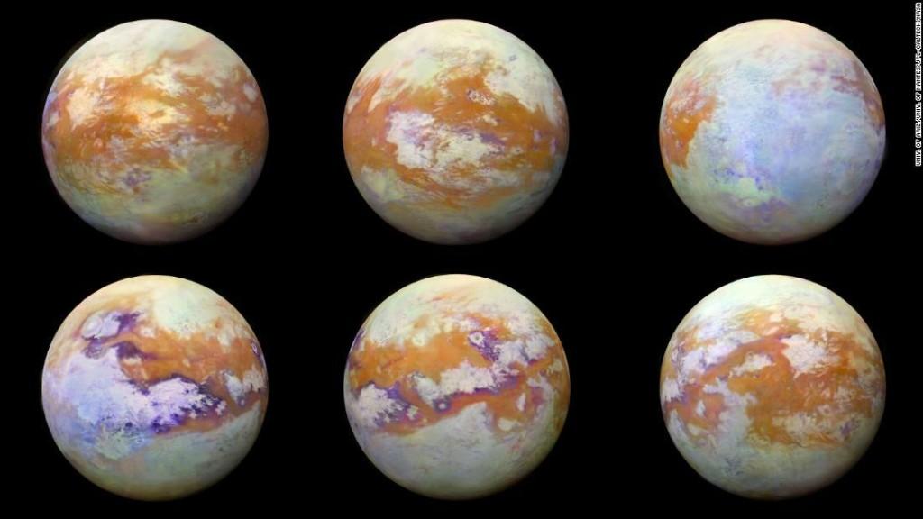 Unusual molecule found in atmosphere on Saturn's moon Titan