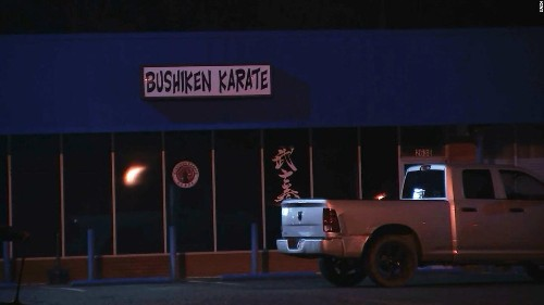 Cops say a would-be kidnapper chased a woman -- into a karate studio. That was a bad move.