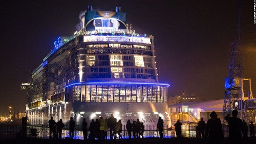 Quantum of the Seas: World's 'smartest cruise ship' with robot waiters and skydiving
