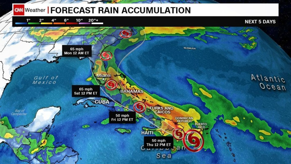 Record-breaking Tropical Storm Isaias is heading toward the US
