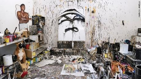 Inside the secluded and intimate New York studios of famous artists