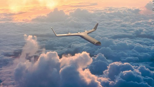 Futuristic Her0 Zero airplane concept promises greener travel