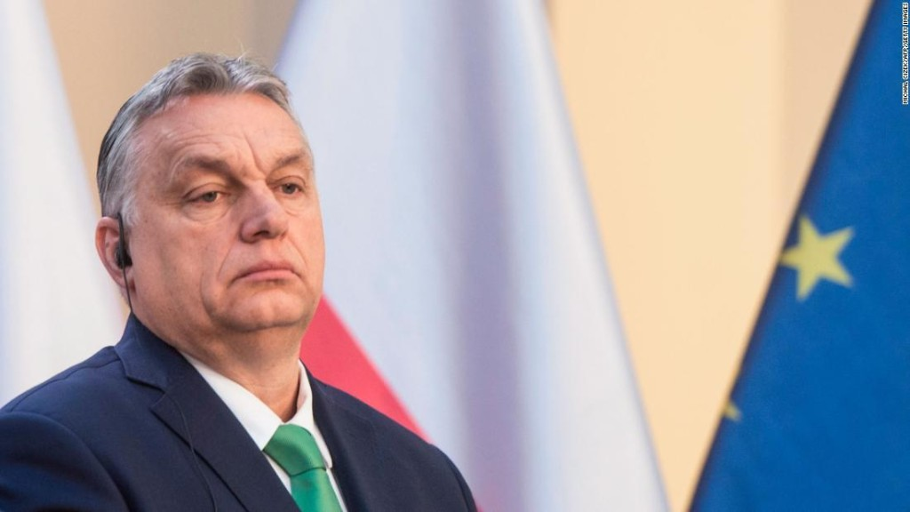 Hungarian leader's outrageous power grab