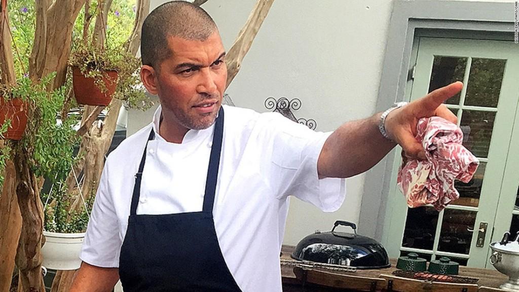 Reuben Riffel: South Africa's guy-next-door turned celebrity chef