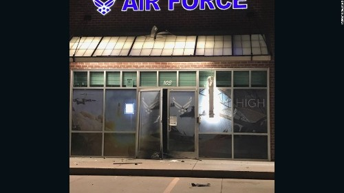 Explosion hits US Air Force recruiting office in Oklahoma