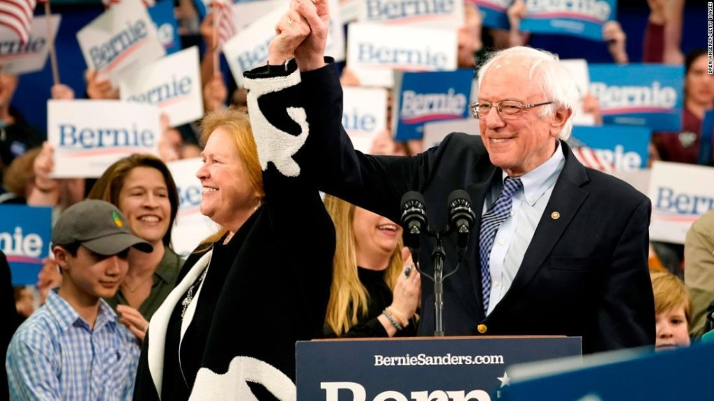 Sanders: Our victory here marks the end for Trump