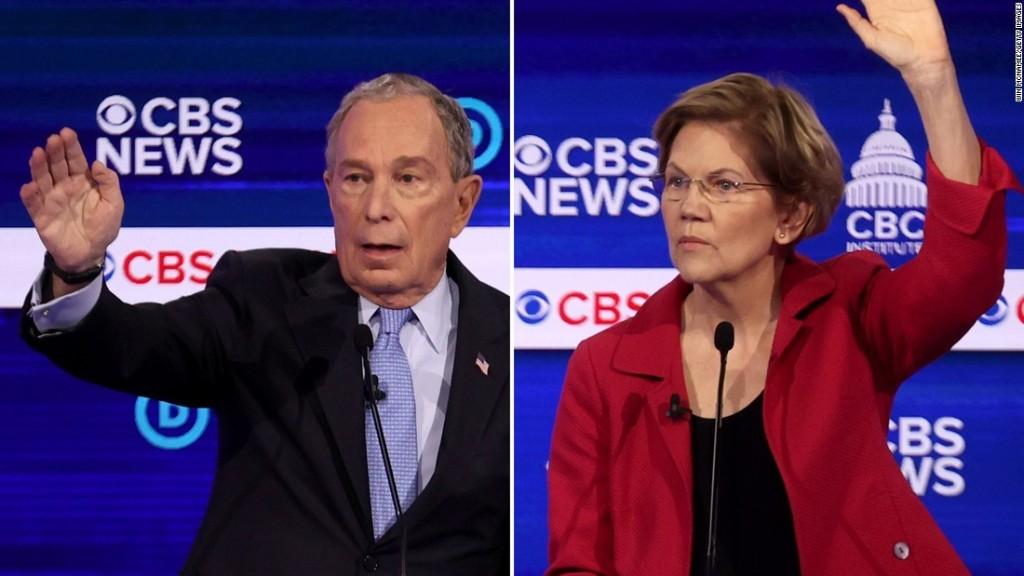 Warren blasts Bloomberg's past support of Lindsey Graham