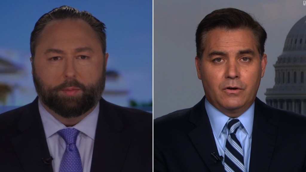 Acosta to Trump campaign adviser: Why does Trump get a pass on this? - CNN Video
