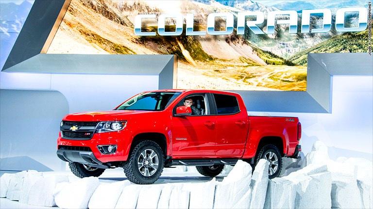 GM's rare new breed: Small pickup