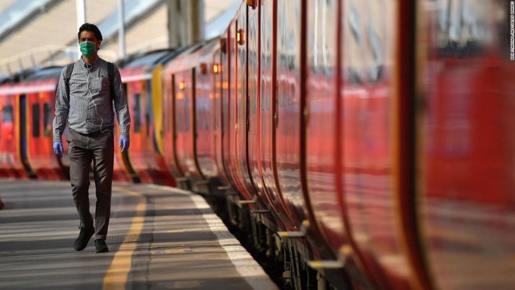 Masks mandatory on England's public transport starting June 15