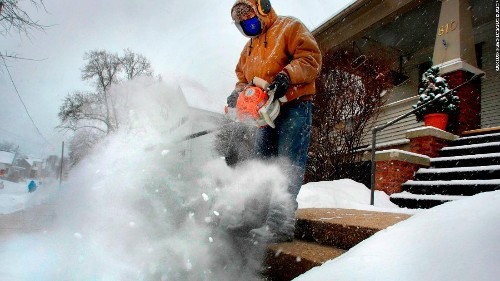Record cold, heavy snow grips much of the US, with more on the way