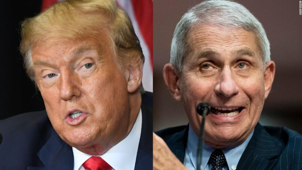 Dr. Anthony Fauci opens up about why he's not being allowed on TV - CNN Video