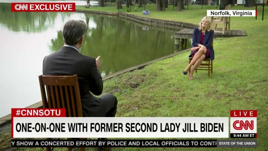 Jill Biden on Trump smears: 'What else does Trump have?'