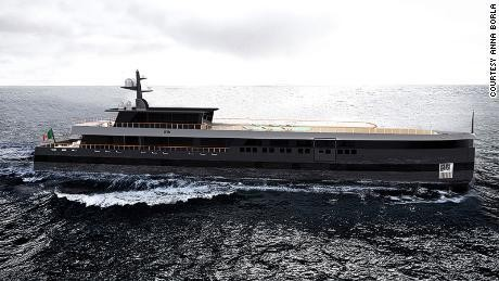 This superyacht is designed to vanish in the water