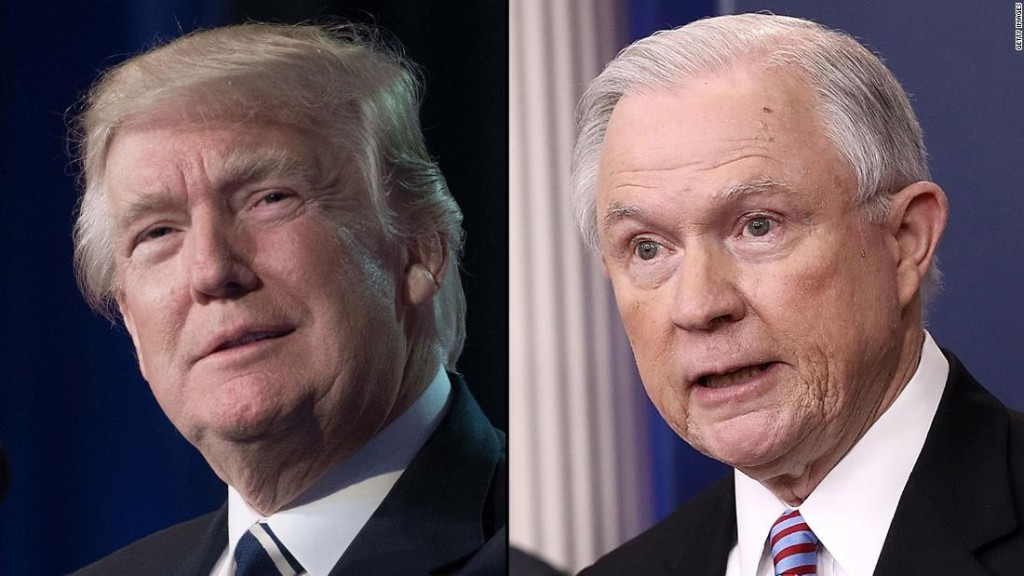 Trump wishes he hadn't picked Sessions for AG