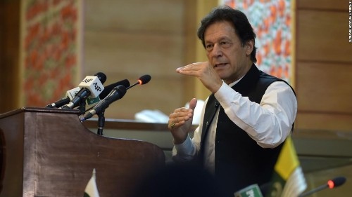 Pakistan prepared to 'fight to the end' over Kashmir, says PM Imran Khan
