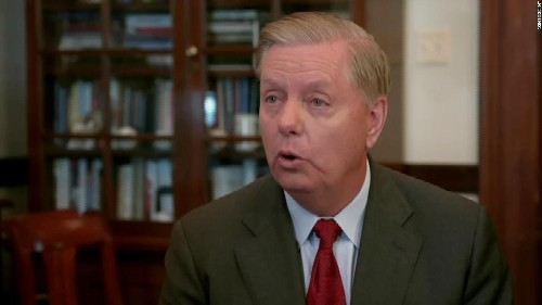 Lindsey Graham does not rule out the possibility of Trump impeachment if new evidence emerges