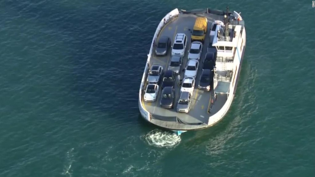Two women were found dead after a car plunged from a Miami ferry