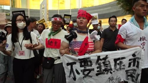 Hong Kong police make 'largest ever' seizure of explosives on eve of protests