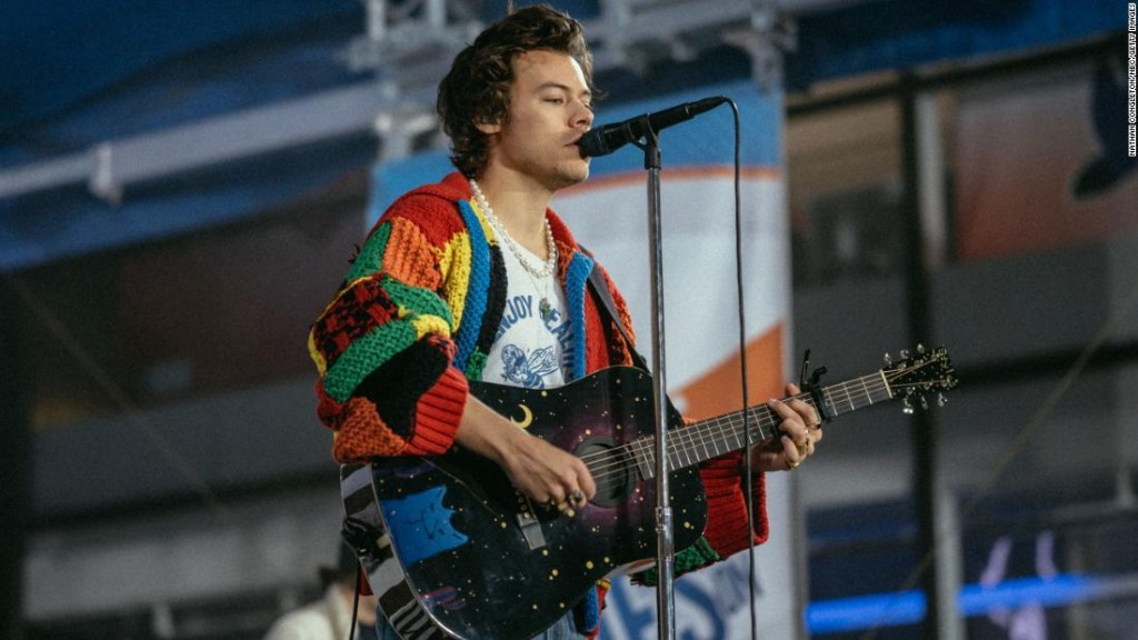 The V&A museum has acquired the Harry Styles cardigan that sparked a TikTok craze