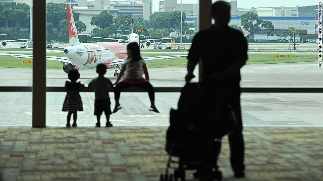 A guerrilla approach to flying with kids