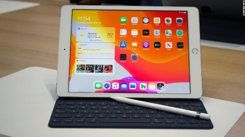 We got our hands on the 7th Gen iPad 10.2""