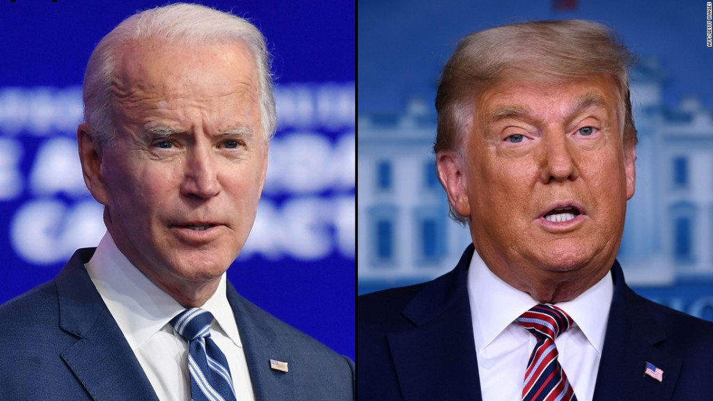 Biden says he would meet with Trump if Trump asked