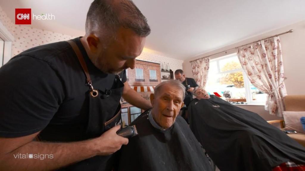 Meet Belfast's 'dementia-friendly barber'