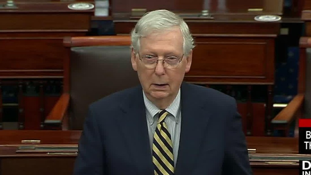 Opinion: Mitch McConnell is going to turn me into a socialist