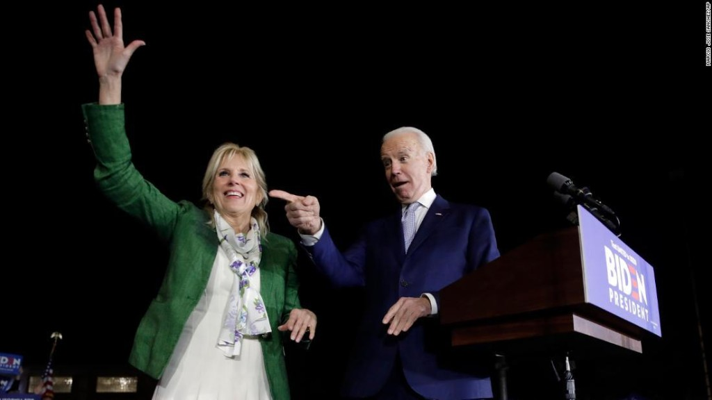 Jill Biden plays an influential role in her husband's search for a running mate