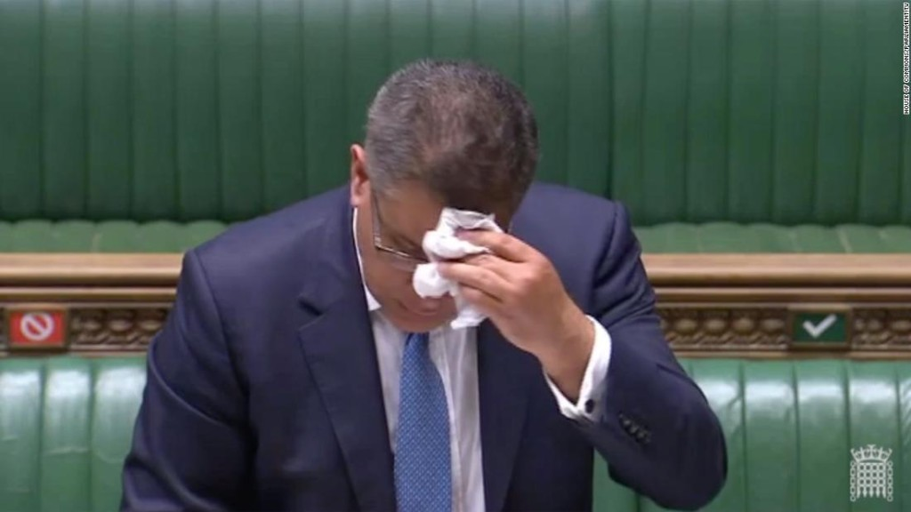 UK government minister tests negative for coronavirus after scare in Parliament